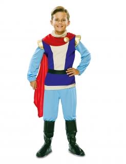 Prinz Charming-Kostüm für Jungen Faschingskostüm blau-rot