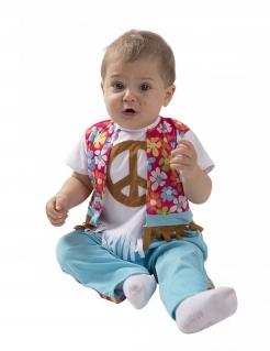 Kleiner Hippie Babykostüm bunt