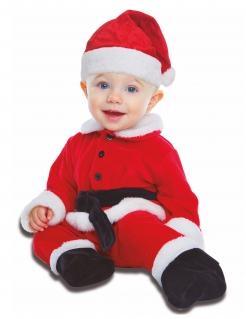 Baby-Weihnachtsmann-Kostüm Weihnachtskostüm für Babys rot-weiss