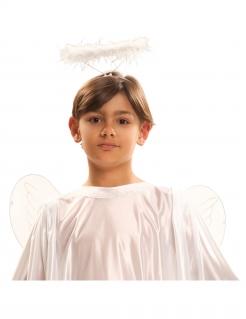 Heiligenschein für Kinder Kostüm-Accessoire weiss