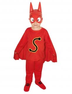 SamSam™-Kostüm für Kinder Faschingskostüm rot