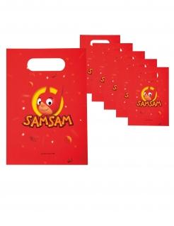 SamSam™ Geschenktüten 6 Stück rot-gelb 23 x 16 cm