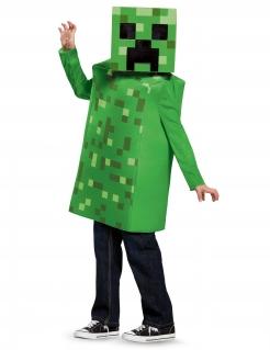 Creeper-Kostüm für Kinder Minecraft™ grün-schwarz
