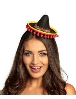 Mini-Sombrero für Erwachsene bunt