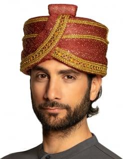 Sultan Hut orientalische Kopfbedeckung für Erwachsene glitzer