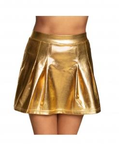 Faltenrock für Damen Kostüm-Accessoire gold
