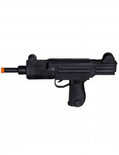 Maschinengewehr Maschinenpistole schwarz 38 cm Länge