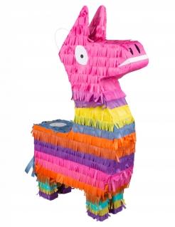 Lama-Piñata Geburtstagsdeko bunt 58x35 cm