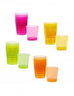 Shot-Gläser 20 Stück bunt