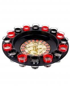 Schnapsglas-Roulette 19-teilig bunt 30 cm