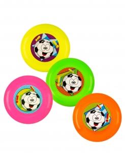 Frisbee-Spielzeuge Piñata-Accessoire 4 Stück bunt 9 cm