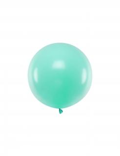 Latex-Luftballon runder Ballon Partydeko minzgrün 60 cm