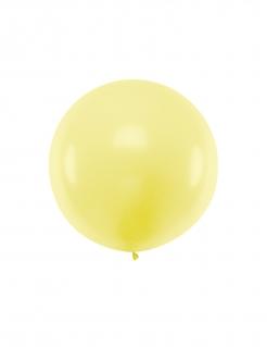 Riesenballon aus Latex gelb 1 m