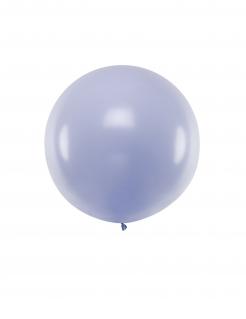 Riesen-Luftballon rund Partydeko pastell violett 1 m