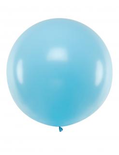 Gigantischer Latexballon blau 1 m