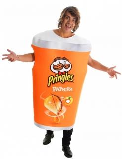 Pringles™-Kostüm für Erwachsene Paprika orange