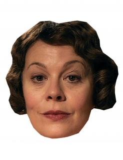 Gangster-Pappmaske für Damen TV-Serie Accessoire hautfarben-braun