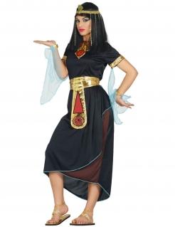 Ägyptische Prinzessin Damenkostüm Faschingskostüm schwarz-gold