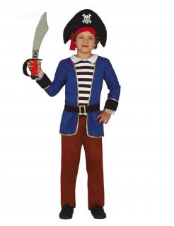 Elegantes Piratenkostüm für Jungen bunt