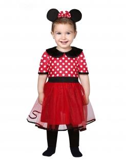 Cartoon-Maus-Kostüm für Babys und Kleinkinder Baby-Kareval-Kostüm rot-schwarz-weiss