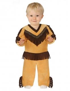 Indianer-Kostüm Kleinkinder-Kostüm braun