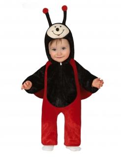 Marienkäfer-Baby-Kostüm Kleinkinder-Kostüm schwarz-rot