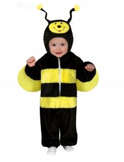 Bienen-Kostüm für Babys / Kleinkinder schwarz-gelb