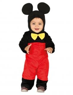 Maus-Kostüm für Babys und Kleinkinder Baby-Tier-Kostüm schwarz-rot-gelb