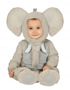 Elefanten-Kostüm für Babys Baby-Tier-Kostüm grau