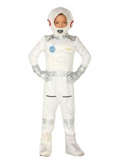 Astronaut Kinderkostüm Overall Weltall weiss