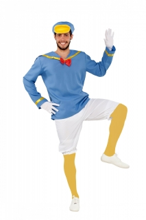 Matrosen-Ente Herrenkostüm Faschingskostüm blau-weiss