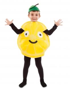 Lustiges Zitronen-Kinderkostüm bunt