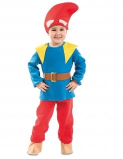Märchenhaftes Zwergen-Kostüm für Jungen bunt