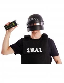 Taser SWAT-Accessoire Fasching schwarz 7 cm