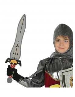 Heldenhaftes Ritterschwert für Kinder bunt 53 cm