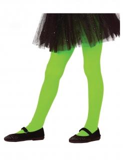 Neon Kinder-Strumpfhose grün