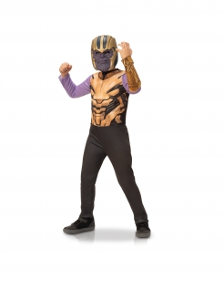 Thanos™-Kostüm für Kinder Avengers Endgame™ Faschingskostüm violett-gold
