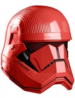 Sith Trooper™ Helm Star Wars™ Maske für Erwachsene rot