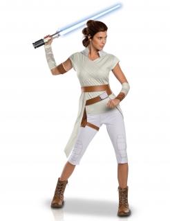 Rey™-Kostüm für Damen Star Wars Der Aufstieg der Skywalkers™ weiss-braun