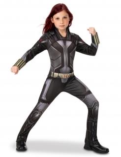 Black-Widow™-Kostüm für Mädchen schwarz-grau