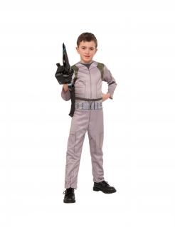 Ghostbusters™-Kostüm für Jungen Halloweenkostüm beige-grün-schwarz