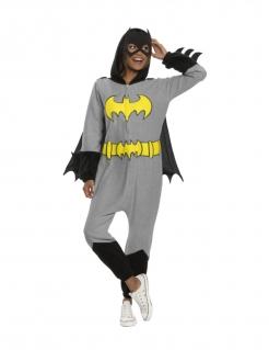 Batgirl™-Damenkostüm mit Maske grau-schwarz-gelb
