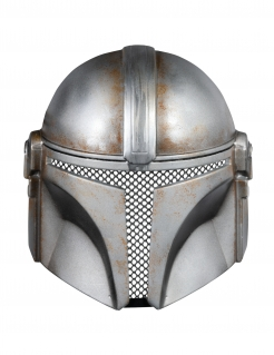 Mandalorian™-Maske für Erwachsene Star Wars™ grau