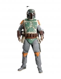 Boba Fett™-Sammlerkostüm für Herren Star Wars™ Kostüm grau-grün