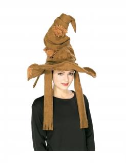 Der sprechende Hut von Harry Potter™ für Erwachsene braun