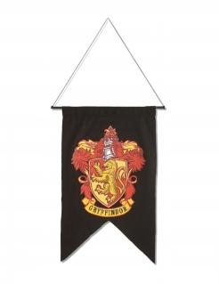 Gryffindor™-Flagge Harry Potter™ Partydeko schwarz-rot-gelb 50x76 cm