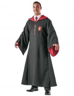 Gryffindor Zauberer-Robe für Erwachsene Harry Potter™ schwarz-rot