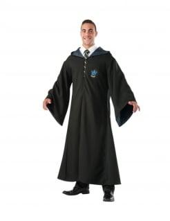 Ravenclaw Zauberer-Robe für Erwachsene Harry Potter™ schwarz
