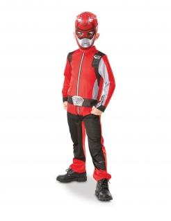 Power Rangers™-Kostüm für Kinder rot Power Rangers Beast Morpher™