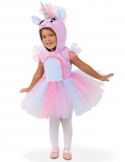 Einhorn-Kostüm für Babys Faschingskostüm rosa-weiss